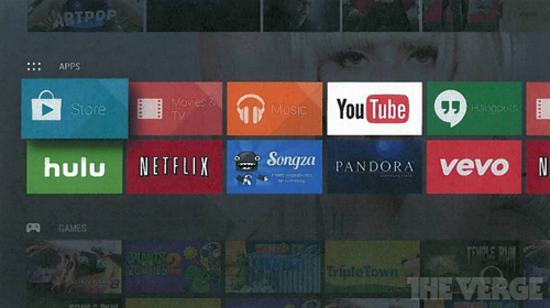 谷歌将推出智能电视Android TV