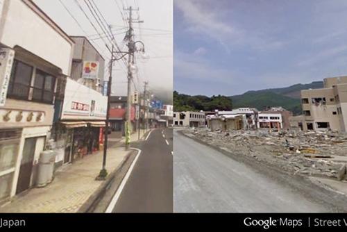 """谷歌街景地图推出""""时光机""""功能"""