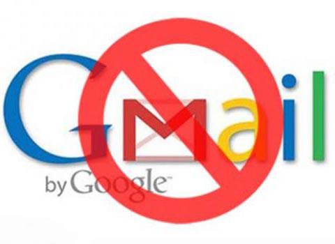 屏蔽Gmail是历史的倒退