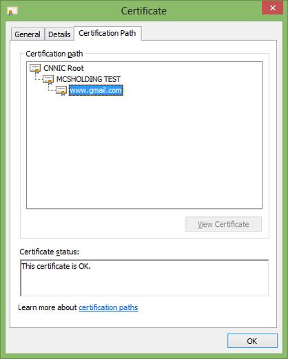 谷歌称CNNIC发布中间人攻击证书