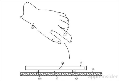 苹果手机防摔新专利:屏幕自动伸出保护片