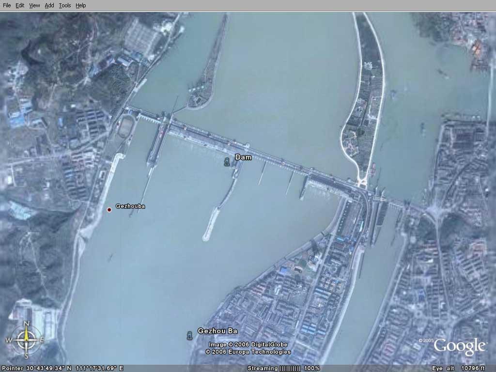 大连卫星地图高清版