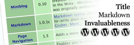 wordpressmarkdown