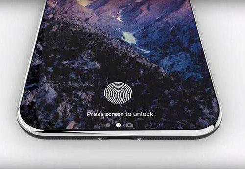 苹果或将支持屏下指纹技术的iPhone