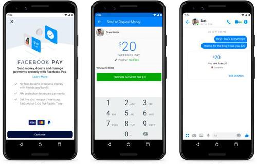 脸书推出支付工具Facebook Pay