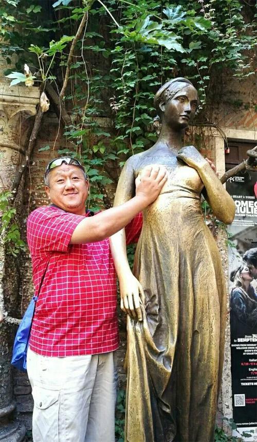 德国朱丽叶雕像