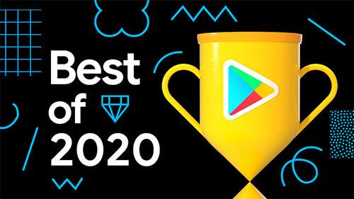 Google Play公布2020年度最佳排行榜