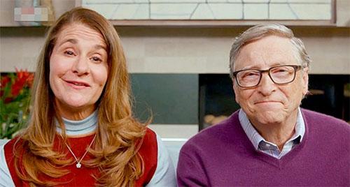 比尔·盖茨和梅琳达