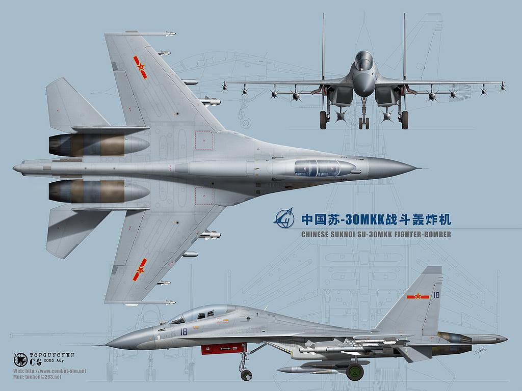 中国32架苏30MKK临空,南沙骤然鸦雀无声! - hubao.an - hubao.an的博客